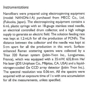 Applied Spectroscopy 誌で NANON-01A が紹介されました